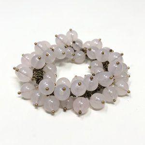 J.Crew Purple Lavender Rhinestone Crystal Bracelet